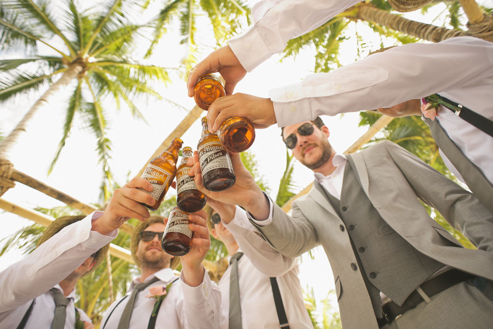 Wedding toast alcohol