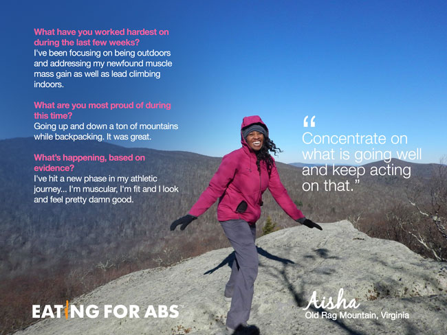 Aisha hiking