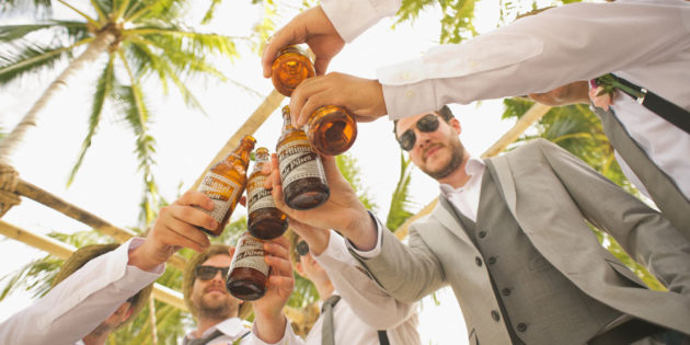 Wedding toast alcohol
